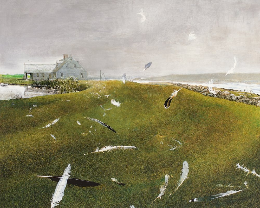 Wyeth Prints and Portraits - Andrew and Jamie Wyeth Limited Edition Prints and Wyeth Portraits by Peter Ralston