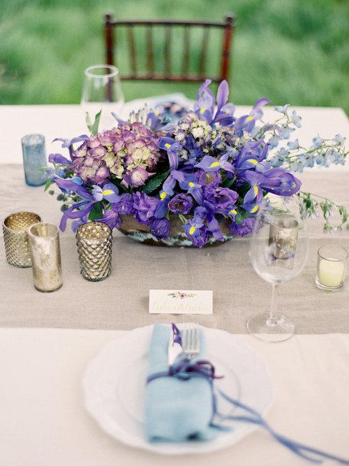 Wedding trends 2018 woodham blooms pantone ultra violet floral wedding centerpieces ideas 2018jpg junglespirit Gallery