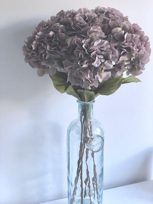 Statement Hydrangeas Vase Woodham Blooms