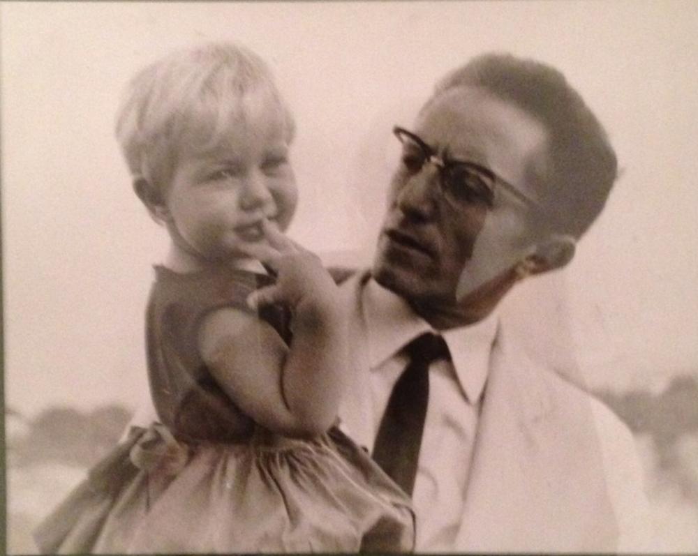 Gisella e suo padre Gaetano Macchiaroli