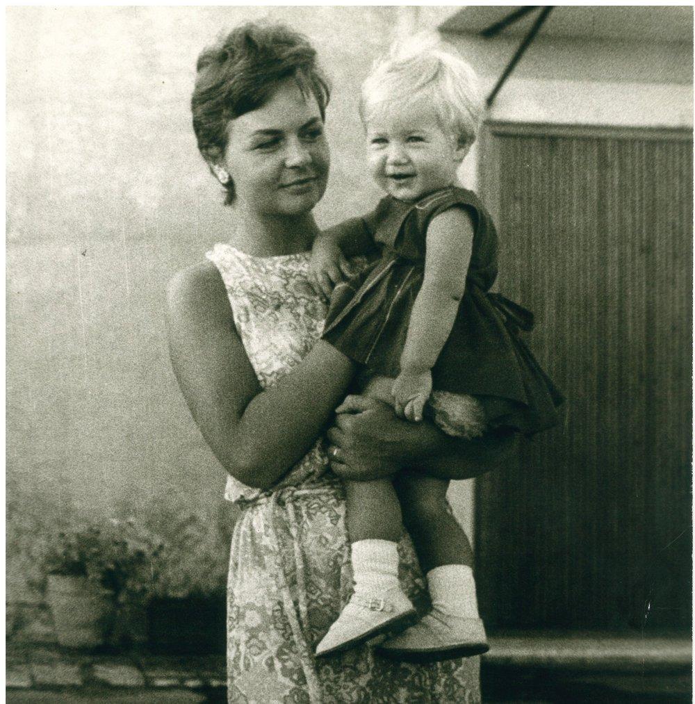 Gisella e sua madre Ingeborg Hutt