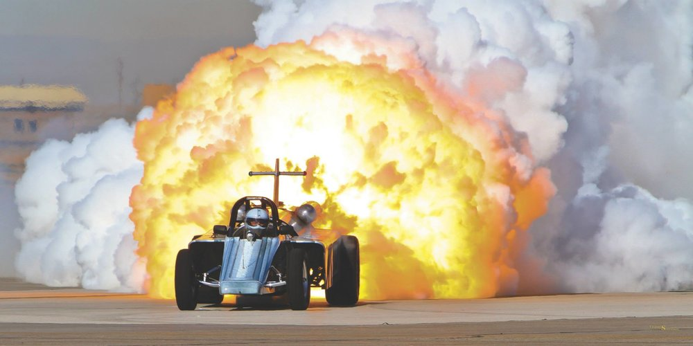 Bill Braack Jet Car