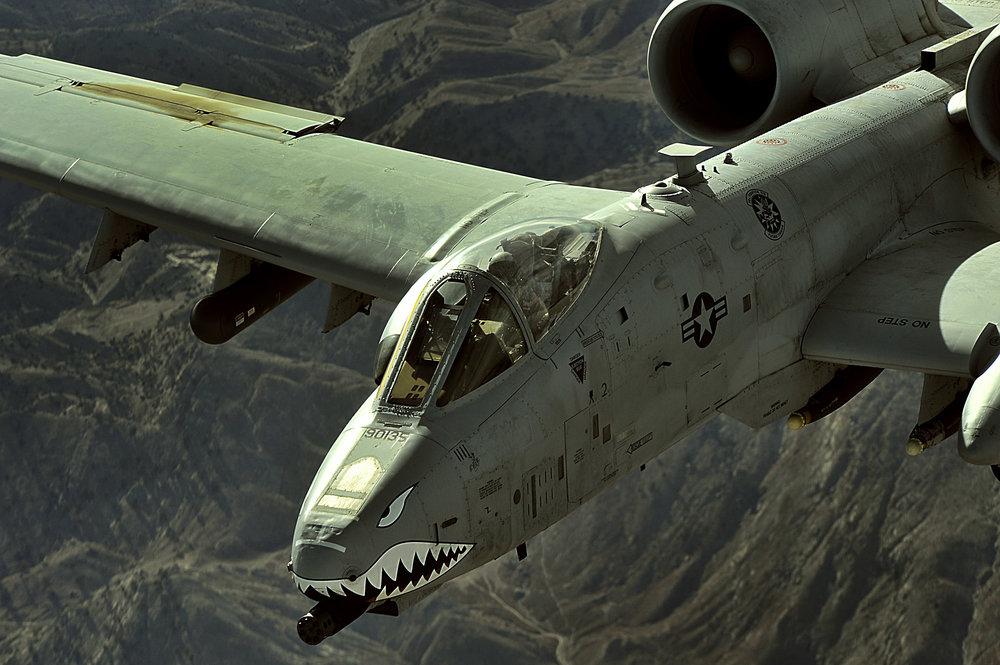 USAF A-10 Warthog