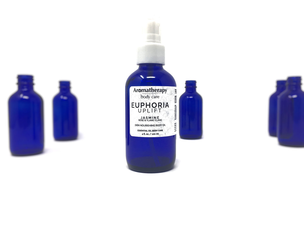 Discover the benefits of Euphoria - A blend of jasmine, rose, and ylang ylang essential oils, Euphoria is a series of body care products designed to nourish your skin and lift your spirits.