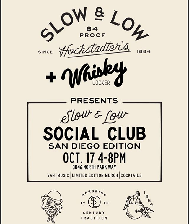 Plans for tonight?! Yeah we got you. Come by the shop today and enjoy some drinks with us by @fieldguideco  and @drinkslowandlow while @joshlaneandtheheartfelt plays some tunes. Stop by to show some support to slow and low for always keeping everyone who drops into the shops whistle wet.