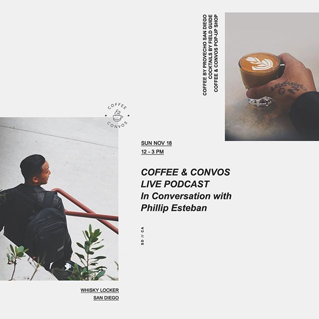 """This weekend is gonna be full of great events at the shop!  Friday we have @virrofficial doing a screening of his new music video """"the problem solved""""  Saturday @fides_rex & @veeejzilla will be throwing a art show greetings from the green room.  Sunday we have the very first live @coffeeandconvos with @phillipesteban at the shop.  Stop by this weekend to meet some great people and check out all these amazing people doing great things in our community!"""