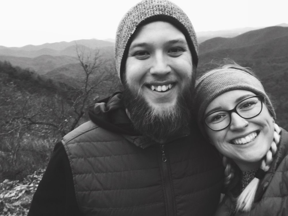 January 1, 2017. Our first hike on the Appalachian Trail together. The AT will always be home.