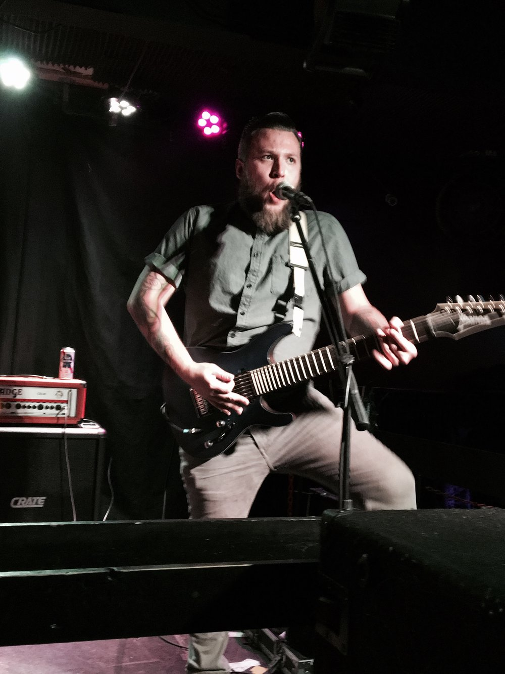 Gig life - The best of them all was when Miles'band opened up for one of their biggest influences, Streetlight Manifesto.