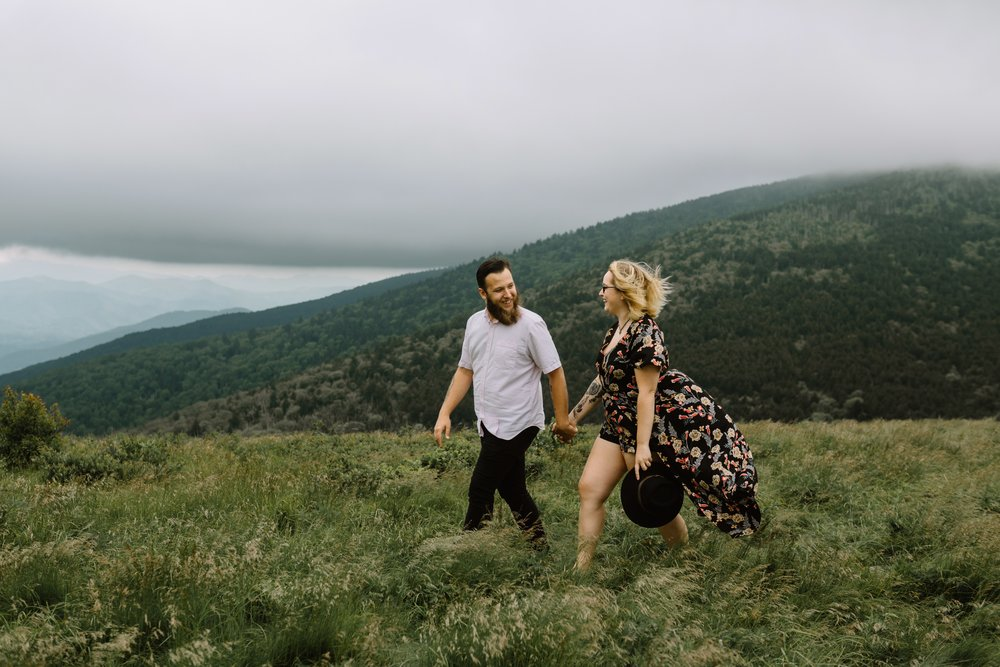 Our engagement photos were done by an incredible human named  Anna Hedges .