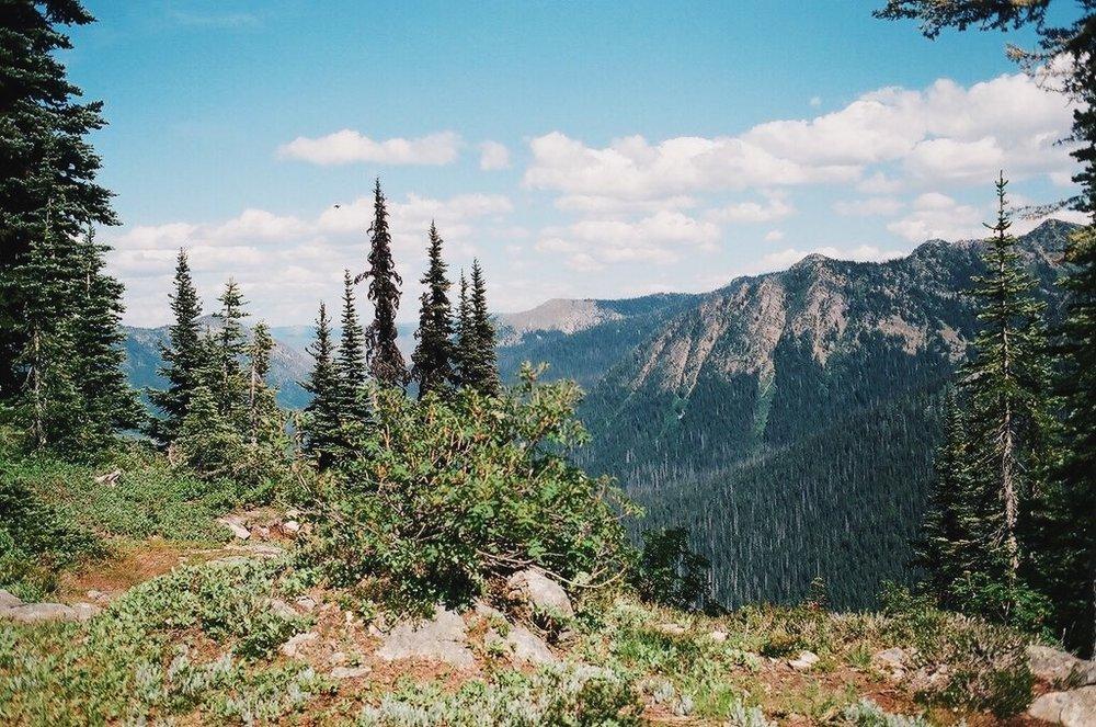 Pacific Crest Trail - Washington on film