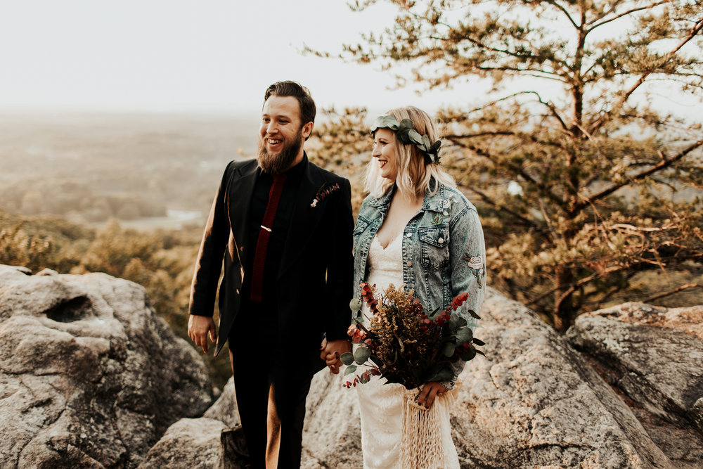 We're going to make a separate journal entry about our wedding day, but we wanted to share a few of our favorite memories here.