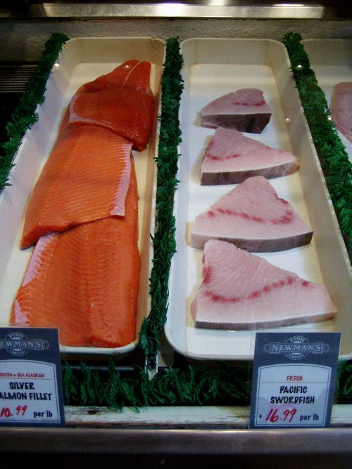 Newman's slices and filets all the fish in house