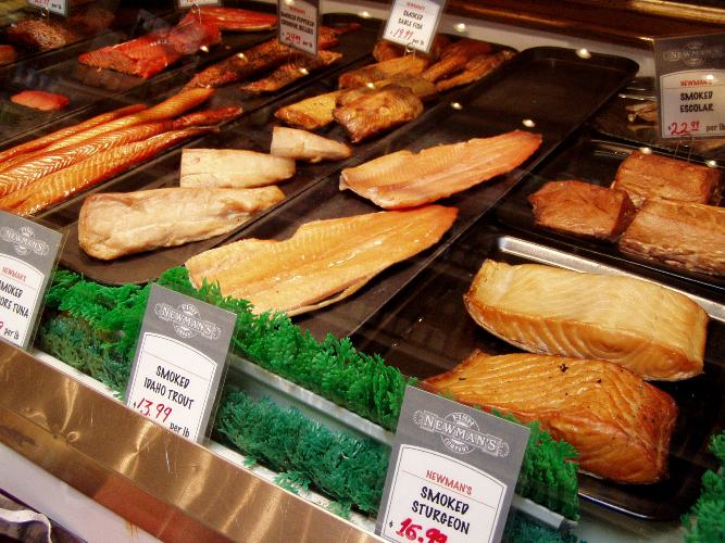 Newman's smokes all sorts of seafood at their North Portland warehouse