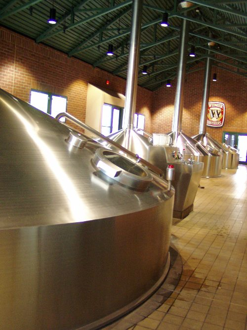 Where eight to nine Widmer beers are brewed daily