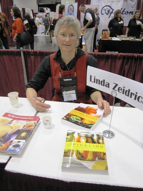 Linda Ziedrich  my pickling  and  now preserving  hero…