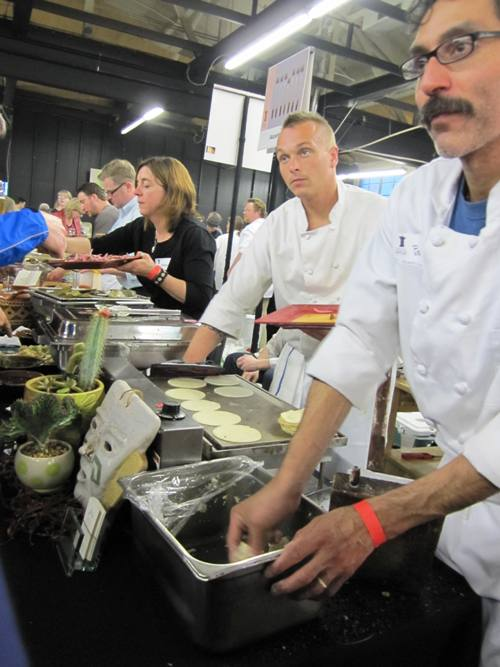 Nuestra Cocina at last year's Taste of the Nation...