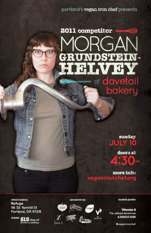 Cheer your favorite competitor on at this year's Vegan Iron Chef!