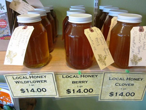 Get some tasty local honey!