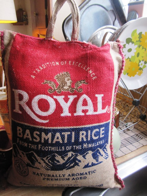 I went ahead and bought a twenty pound sack of basmati from Fiji Emporium on North Interstate Ave. since I cooked a lot of Indian food over the winter and early spring.