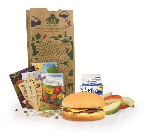 Zenger Farms seed packets with all Burgerville kids' meals through May!