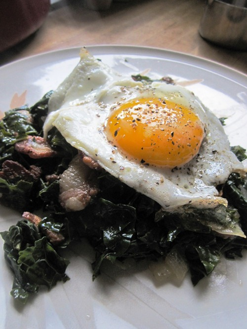 I didn't have a hangover but Joe Beef's Kale for a Hangover cured me of something I'm sure.