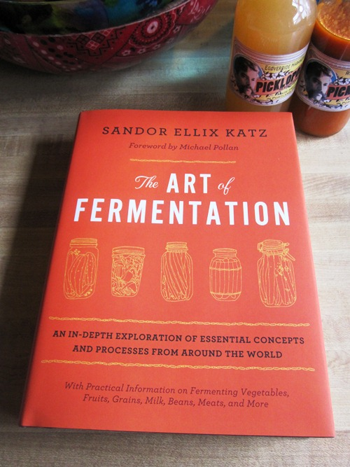 Come to the downtown Powell's for Sandor's book event Wednesday, November 14th at 7:30pm. Comment here for a chance to win a copy of his newest book -- The Art of Fermentation!