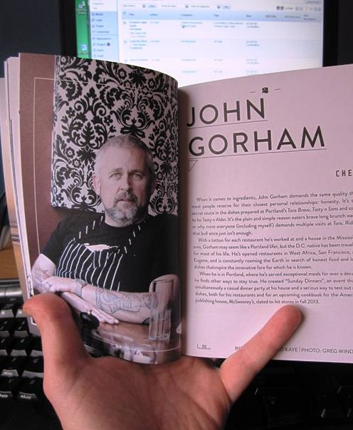 John Gorham's chapter in Revel in Portland Volume 1.