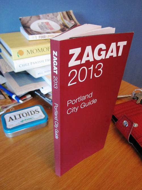 Portland's first Zagat Guide!