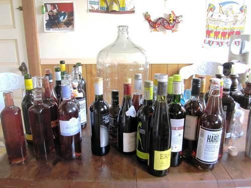 This year's plum wine! 100 bottles!