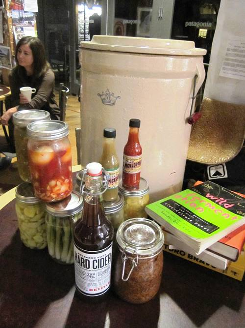 Picklopolis fermented foods to show off on-air along with other fermenty festival treats.