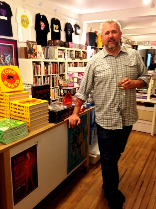 I wish Atomic Books was closer -- I'd be there all the time...