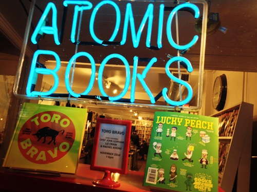 Atomic Books in Baltimore!