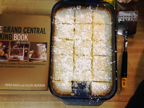 Aaaaand Grand Central's lemon bars that a friend said were the best he'd ever had. Really tasty.