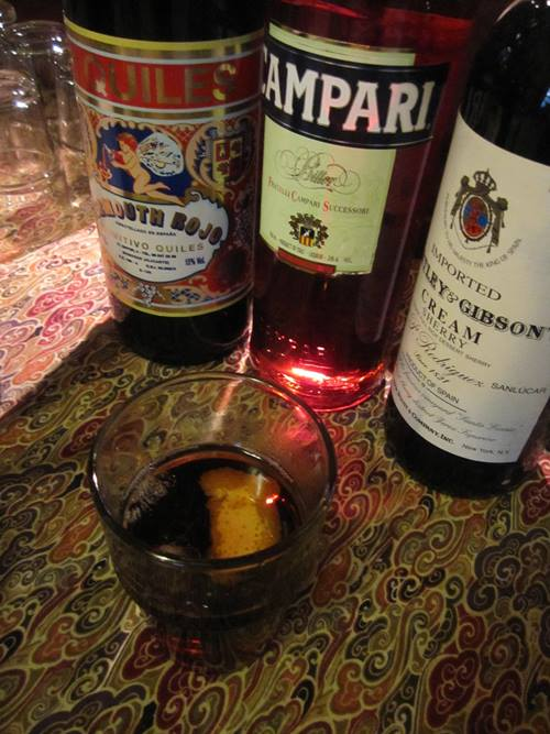 Tom wet our whistles with Toro's Jerez Negroni.