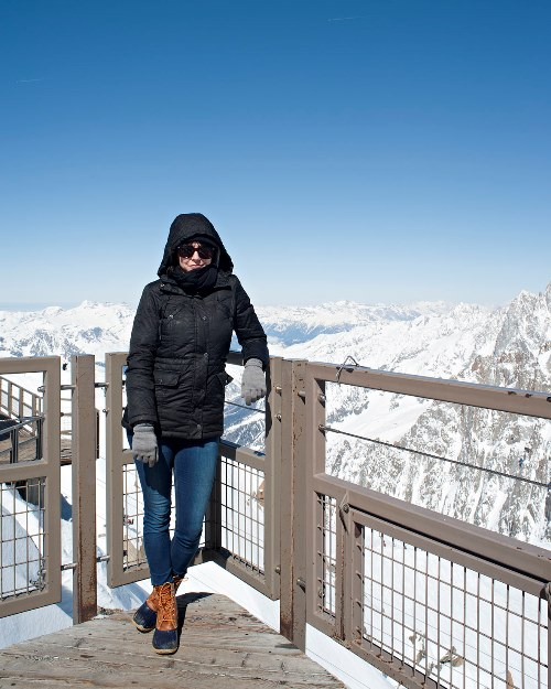 Oh, just hanging out in the Swiss Alps. Rachel Smith, world traveler and on her DOWN TIME editorial assistant for Food Lover's Guide to Portland 2.0.