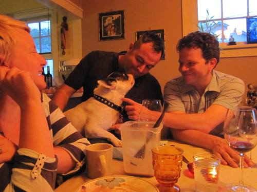 Every dog has its day. Thank you Boscoe for the great dinner party.
