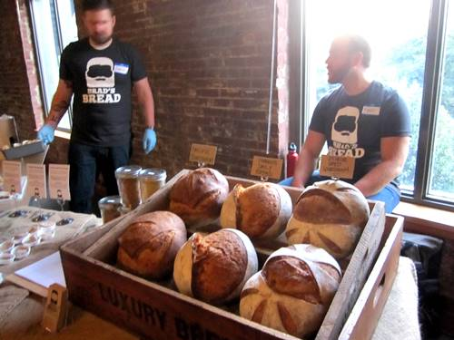 Brad's Bread -- soooo many awesome sourdoughs.