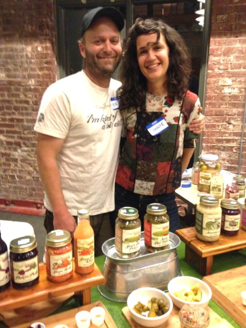 Connie and Brian Shaw of Hood River's Oregon Brineworks always bring the most delicious spread of their ferments. This year was no different. You can find their ferments all over Portland (at New Seasons, Green Zebra, Peoples Food Coop ++) — they're soooo yummy!