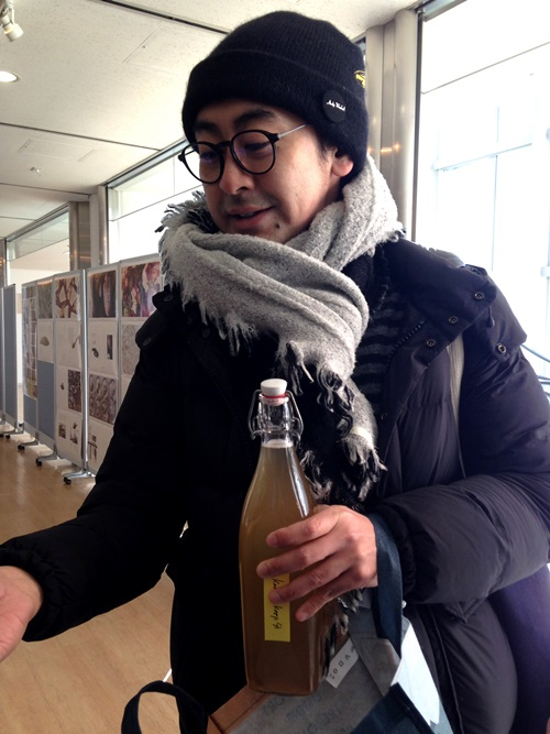 I got to meet Kantaro Oizumi and sample his kombucha which was inspired by trips to Portland after our Portland Fermentation Festival! Kentaro will be launching his Japanese kombucha later this month at Kombuchakon in Long Beach, CA. It's really, really good stuff.