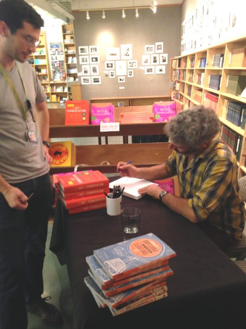At the very end Dane Fredericks of Powell's had Sandor and I sign a bunch of books. Such a treat. Such an honor. I am officially the luckiest.