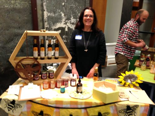 Susan Laarman of Swarm Portland brought her tasty fermented honey! She has a few accounts in Portland but please check out her website swarmportland.org for more info. about what she does.