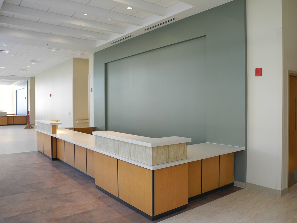 Installed Reception Desks