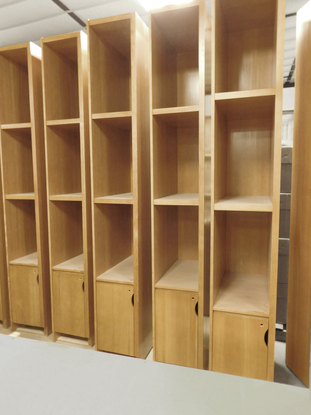 Fabricated Locker Cabinet Architectural Millwork