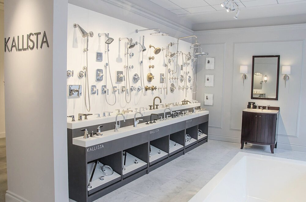Kallista Brassware Walls Showroom Display