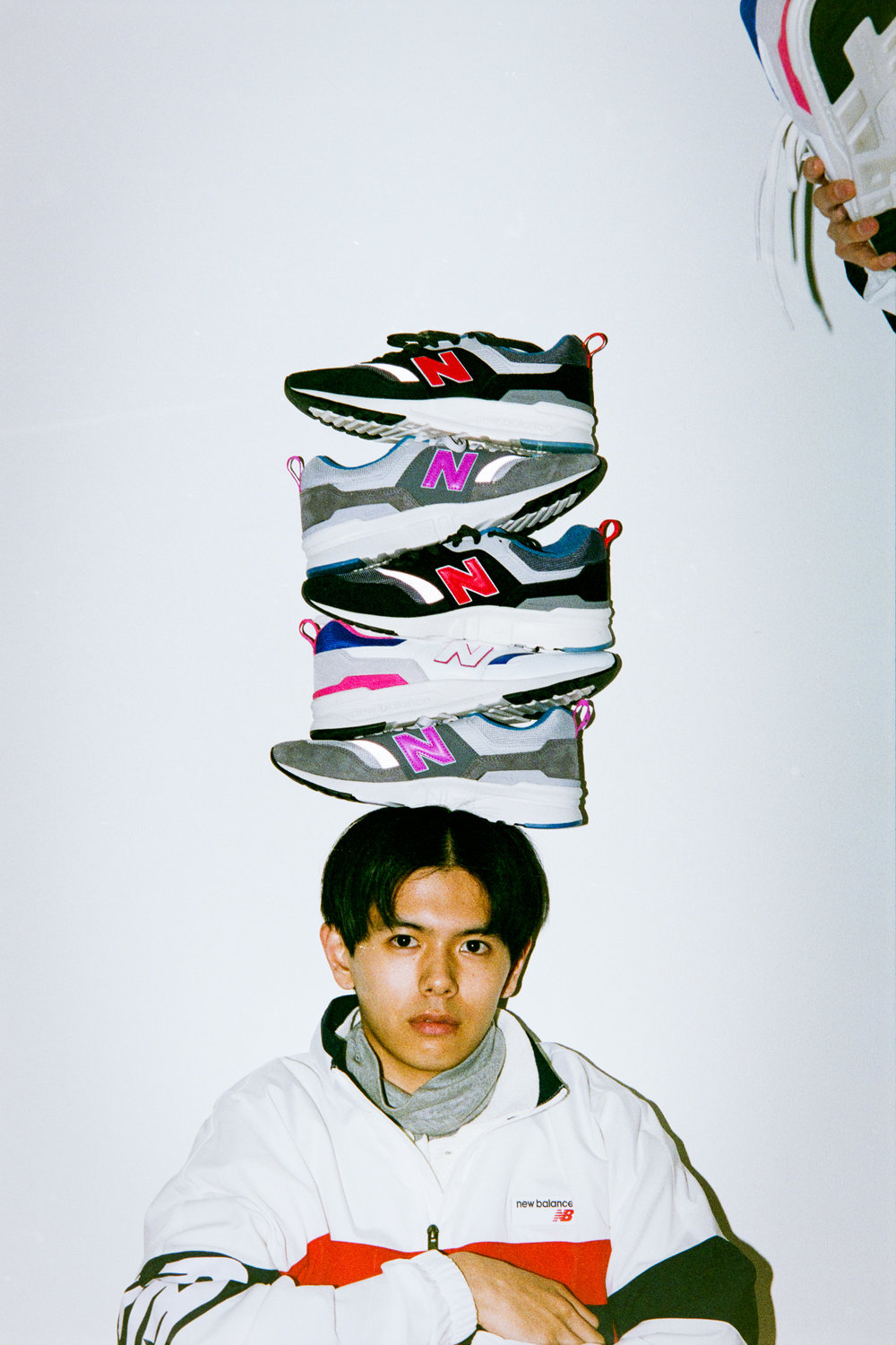 NEW BALANCE for MEN'S NON-NO 3月号