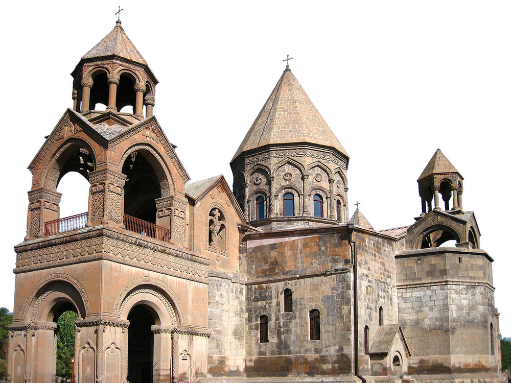 Did you know -  Armenia was the first country to adopt Christianity as a state religion in 301 C.E. The Etchmiadzin Cathedral in Armenia is considered the oldest cathedral in the world.