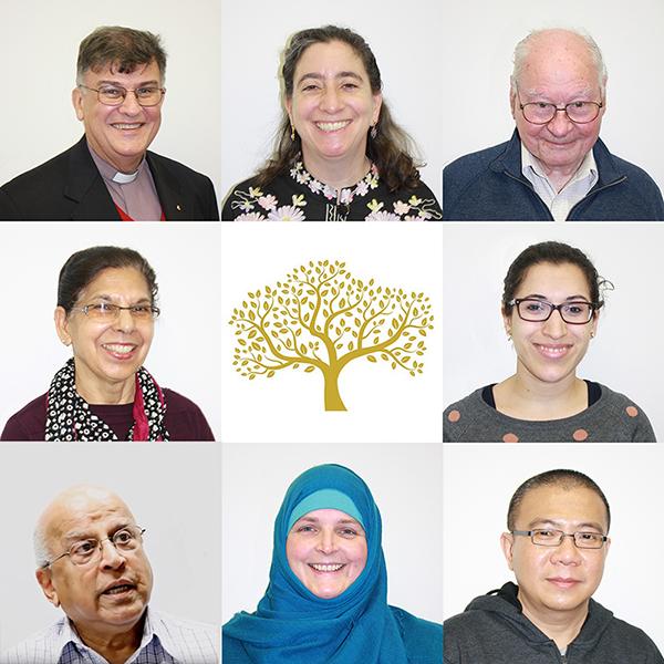 Educators Lynn Arnold, Shoshana Kaminsky, Dr Lewis O'Brien, Balbir Kaur, Dilip Chirmuley, Kathryn Jones, Patrick Lim