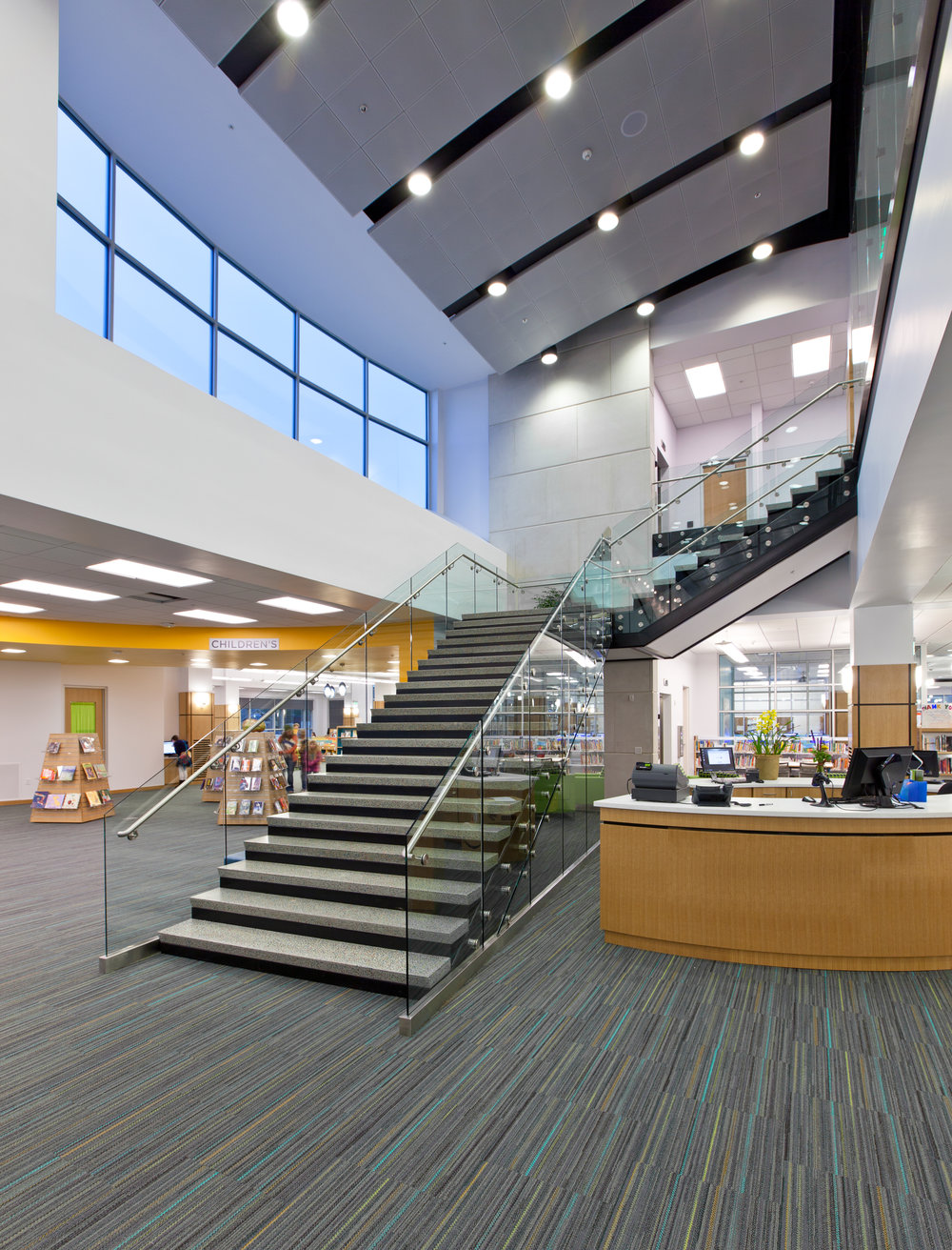 Main Stair -  Springville Library.jpg