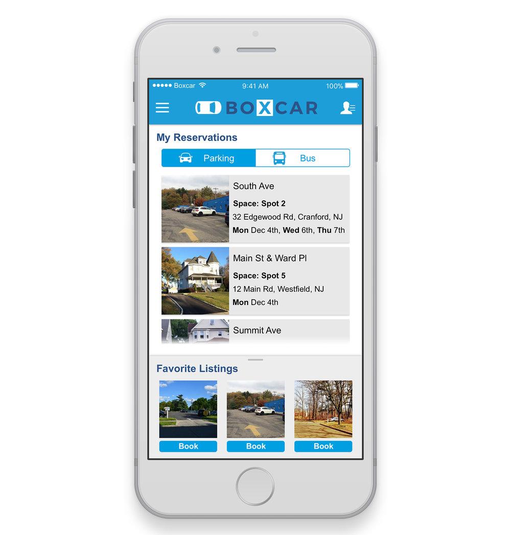 BoxCar App Redesign -