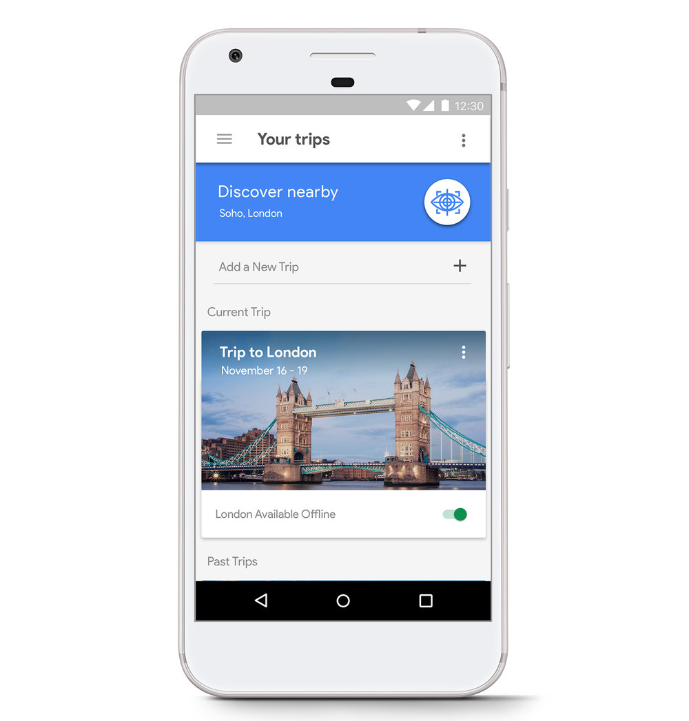 Google Trips App Redesign - Google Trips has tasked the creative team to conduct full research analysis of their existing app to improve on the traveler's experience.Timeline: 2 weeksMy role: Visual Designer, Researcher, Usability Tester, Information Architect